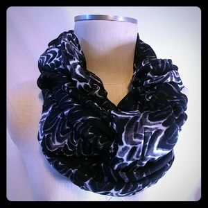 Stella & Dot Union Square Painted Zebra Scarf
